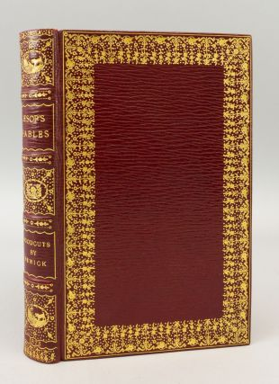 THE FABLES OF AESOP. BINDINGS - KELLIEGRAM, THOMAS BEWICK, AESOP.
