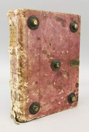 QUADRAGESIMALE . . . DE PRAESERVATIONE HOMINIS A PECCATO. BINDINGS - EARLY, PAUL WANN.