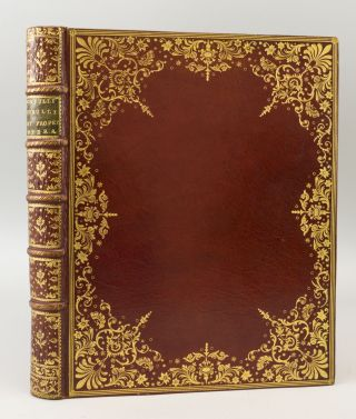 OPERA. BINDINGS - 18TH CENTURY MOROCCO, CATULLUS. TIBULLUS. PROPERTIUS, BASKERVILLE IMPRINT, and