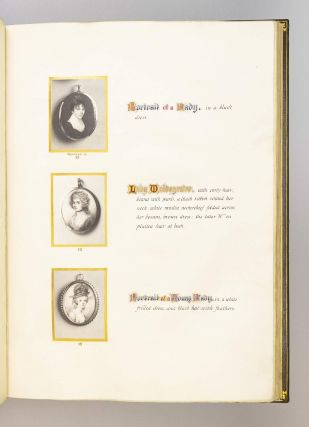 CATALOGUE OF PORTRAIT MINIATURES.