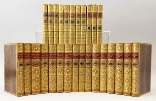 A COLLECTION OF SIX WORKS OF BRITISH AND AMERICAN HISTORY AND BIOGRAPHY. BINDINGS - TREE CALF