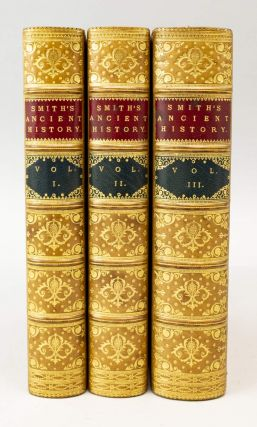 AN ANCIENT HISTORY FROM THE EARLIEST RECORDS TO THE FALL OF THE WESTERN EMPIRE. BINDINGS - FINELY...