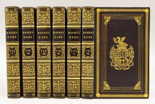 THE ROMAN HISTORY FROM THE BUILDING OF ROME TO THE RUIN OF THE COMMONWEALTH. HOOKE, ATHANIEL