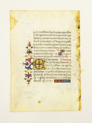 FROM A VERY ATTRACTIVE PORTABLE SPANISH DEVOTIONAL WORK IN LATIN. OFFERED INDIVIDUALLY...