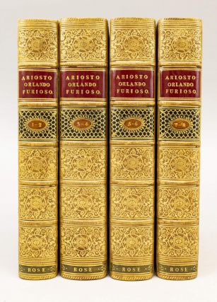 THE ORLANDO FURIOSO TRANSLATED INTO ENGLISH VERSE. BINDINGS - FINELY BOUND SETS, LUDOVICO ARIOSTO