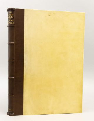SPENSER'S MINOR POEMS, CONTAINING THE SHEPHEARDES CALENDER, COMPLAINTS, DAPHNAIDA, COLIN CLOVTS...