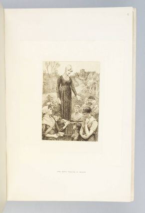 THE GEORGE ELIOT PORTFOLIO, BEING A SERIES OF SIXTY JAPANESE PAPER PROOFS FROM ORIGINAL ETCHINGS AND PHOTO-ETCHINGS ILLUSTRATING GEORGE ELIOT'S WORKS.