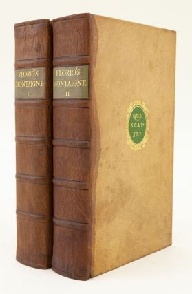 MONTAIGNE'S ESSAYS. NONESUCH PRESS, MICHEL EYQUEM DE MONTAIGNE
