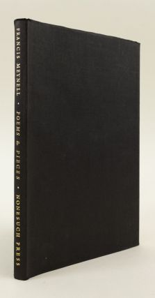 POEMS & PIECES, 1911-1961. NONESUCH PRESS, FRANCIS MEYNELL