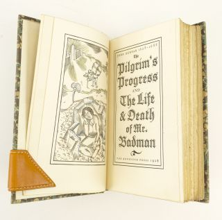 THE PILGRIM'S PROGRESS. [with] THE LIFE AND DEATH OF MR. BADMAN.