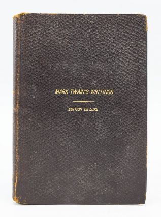 "PROSPECTUS FOR THE EDITION DE LUXE OF ""MARK TWAIN'S WRITINGS."" SAMUEL L. CLEMENS, "" ""MARK TWAIN,..."
