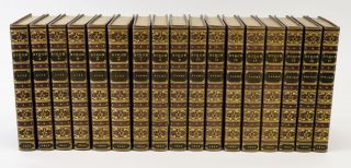 THE WORKS . . . WITH HIS LETTERS AND JOURNALS AND HIS LIFE, BY THOMAS MOORE, ESQ. BINDINGS -...