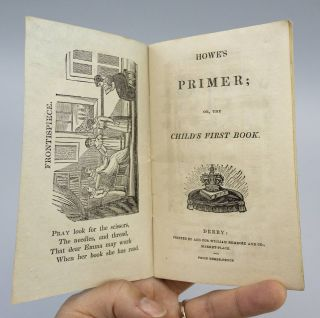 HOWE'S PRIMER; OR, THE CHILD'S FIRST BOOK.