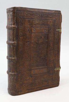 IN SATYRAS SEX. [bound with] TERENTIUS AFER, PUBLIUS. COMOEDIA ADELPHI. BINDINGS - JOBST...