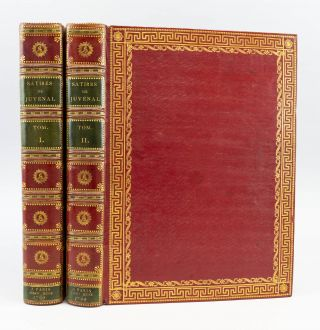 SATIRES DE JUVÉNAL. BINDINGS - GEORG FRIEDRICH KRAUSS, DECIMIUS JUNIUS JUVENAL