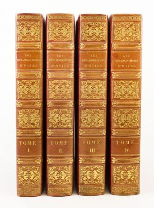 LES METAMORPHOSES. FRENCH ILLUSTRATED BOOKS, OVID, BINDINGS - PURGOLD-HERING