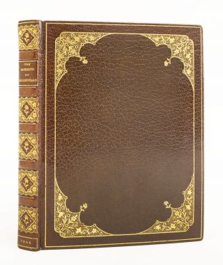 THE SONNETS AND SONGS OF SHAKESPEARE. BINDINGS - ZAEHNSDORF, WILLIAM SHAKESPEARE