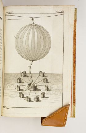 DESCRIPTION DES EXPÉRIENCES DE LA MACHINE AÉROSTATIQUE DE MM. DE MONTGOLFIER. [and] L'ART DE...