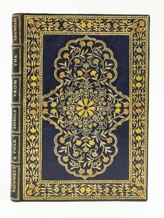 SONNETS WITH FOLK SONGS FROM THE SPANISH. GOLDEN COCKEREL PRESS, HAVELOCK ELLIS, BINDINGS