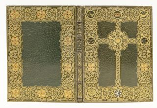 "ILLUMINATED MANUSCRIPT ON VELLUM - MODERN, "" FRANCIS OF ASSISI'S ""THE CANTICLE OF BROTHER SUN,..."