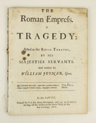 THE ROMAN EMPRESS. WILLIAM JOYNER