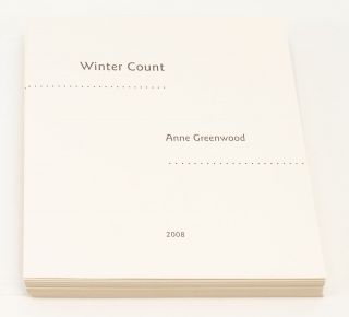 WINTER COUNT.