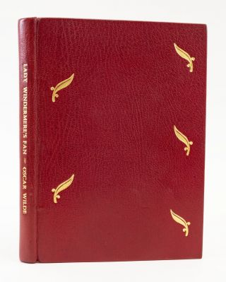 LADY WINDERMERE'S FAN. OSCAR WILDE, BINDINGS - ASPREY
