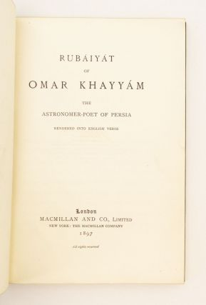 THE RUBÁIYAT.