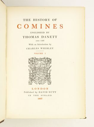 THE HISTORY OF COMINES.