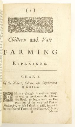 CHILTERN AND VALE FARMING. [bound with] THE PRACTICAL FARMER; OR THE HERTFORDSHIRE HUSBANDMAN.