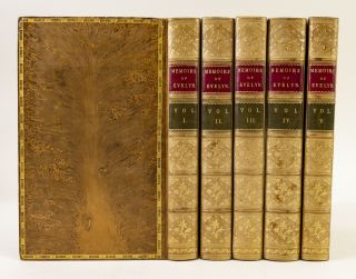 MEMOIRS OF JOHN EVELYN . . . COMPRISING HIS DIARY FROM 1641 TO 1705-6, AND A SELECTION OF HIS FAMILIAR LETTERS.