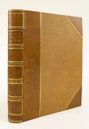 RELIGIO MEDICI AND OTHER ESSAYS. SIR THOMAS BROWNE