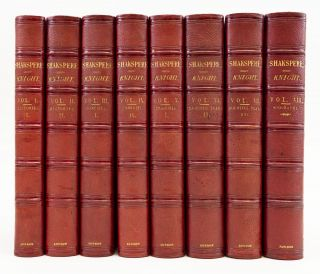 THE PICTORIAL EDITION OF THE WORKS OF SHAK[E]SPEARE. BINDINGS - FINELY BOUND SETS, WILLIAM...