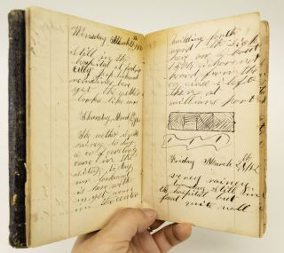 DIARY OF A UNION SOLDIER IN THE 46TH PENNSYLVANIA INFANTRY REGIMENT, COMPANY G.