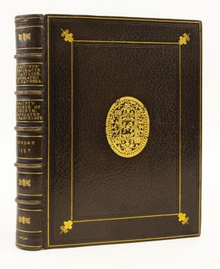 THE CONSPIRACIE OF CATILINE, WRITTEN BY CONSTANCIUS FELICIUS DURANTINUS, . . . WITH THE HISTORYE...