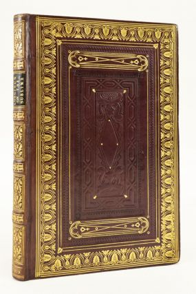 DIONYSIUS LONGINUS ON THE SUBLIME. BINDINGS - 19TH CENTURY ENGLISH, PSEUDO, -LONGINUS