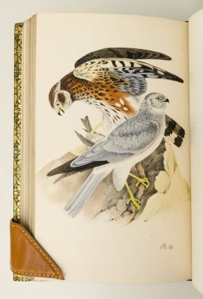 COLOURED ILLUSTRATIONS OF BRITISH BIRDS, AND THEIR EGGS.
