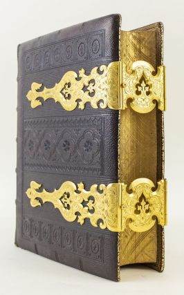 THE COMPREHENSIVE BIBLE. BINDINGS - 19TH CENTURY PRESENTATION, BIBLE IN ENGLISH