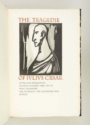 THE TRAGEDIE OF IVLIVS CAESAR. GRABHORN PRESS, WILLIAM SHAKESPEARE
