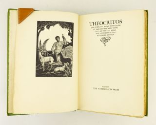 THE COMPLETE POEMS OF THEOCRITOS. FANFROLICO PRESS, THEOCRITUS