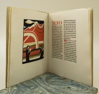 "THE BOOK OF RUTH. [with] A TRIAL COPY OF THE 1926 VERSION OF ""BOOK OF RUTH."" GRABHORN PRESS,..."