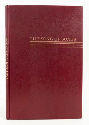 CANTICUM CANTICORUM. THE SONG OF SONGS. GERHART KRAAZ, bbxIllustrator bbx . BIBLE IN ENGLISH,...