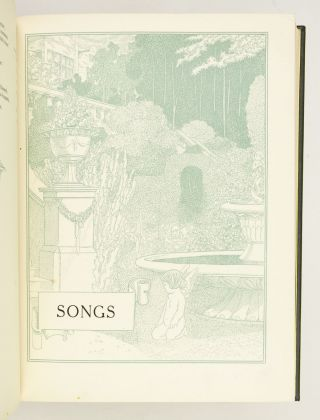 THE SONGS & SONNETS OF SHAKESPEARE.