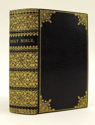 THE HOLY BIBLE, CONTAINING THE OLD AND NEW TESTAMENTS. BIBLE IN ENGLISH, BINDINGS - VICTORIAN