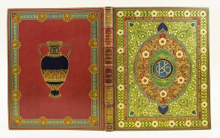 LA BELLE DAME SANS MERCI [AND OTHER POEMS]. BINDINGS - JEWELLED, ALBERTO SANGORSKI, Illuminator,...