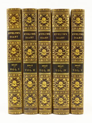 MEMOIRS OF JOHN EVELYN . . . COMPRISING HIS DIARY, FROM 1641-1705-6, AND A SELECTION OF HIS FAMILIAR LETTERS.
