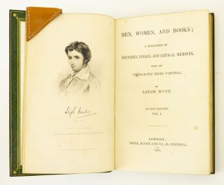 MEN, WOMEN, AND BOOKS: A SELECTION OF SKETCHES, ESSAYS, AND CRITICAL MEMOIRS, FROM HIS UNCOLLECTED PROSE WRITINGS.