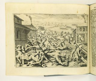 SCHEEPS-TOGT VAN ANTHONY CHESTER NA VIRGINIA, GEDAAN IN HET JAAR 1620. JAMESTOWN MASSACRE...