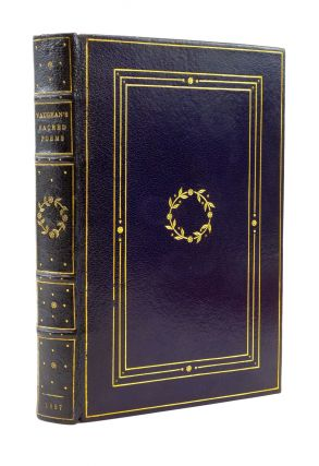 THE SACRED POEMS. BINDINGS - GRABAU, HENRY VAUGHAN, VALE PRESS