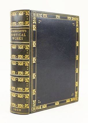 THE POETICAL WORKS. BINDINGS - ARTS, CRAFTS-STYLE